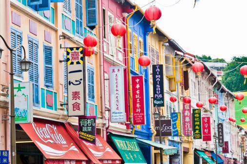 Chinese Lantern「Chinatown, Singapore」:スマホ壁紙(14)