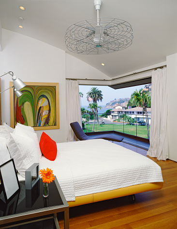 Ceiling Fan「Bedroom with Curved Ceiling」:スマホ壁紙(6)
