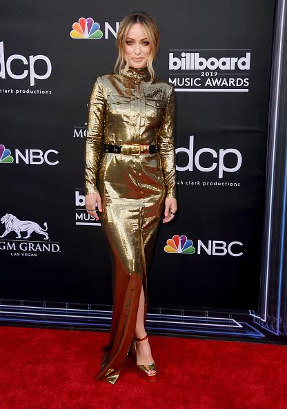 Metallic Dress「2019 Billboard Music Awards - Arrivals」:写真・画像(14)[壁紙.com]