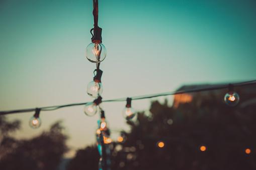 Party - Social Event「Patio String Lights」:スマホ壁紙(11)
