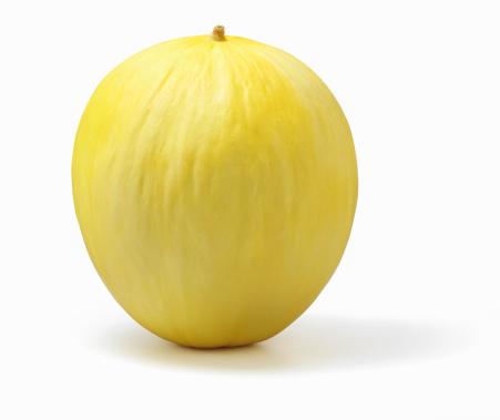 メロン「Honey dew melon on white background」:スマホ壁紙(13)