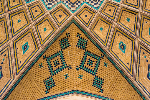 Iranian Culture「Persian architecture and decoration art, Isfahan, Iran」:スマホ壁紙(11)