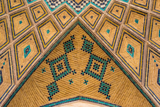 Persian architecture and decoration art, Isfahan, Iran:スマホ壁紙(壁紙.com)