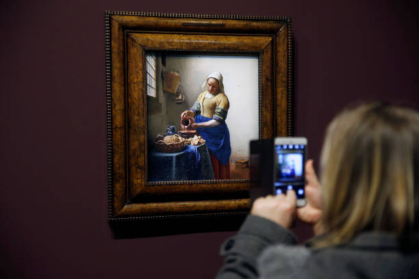 """""""Vermeer And The Masters Of Genre Painting - Veermer Et Les Maitres De La Peinture De Genre"""" At Le Louvre Museum:ニュース(壁紙.com)"""