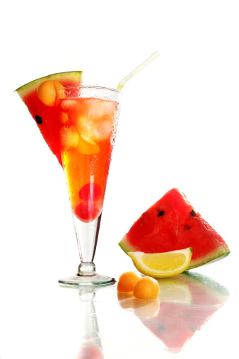 Watermelon「Cocktail Drink with Watermelon Slices」:スマホ壁紙(17)