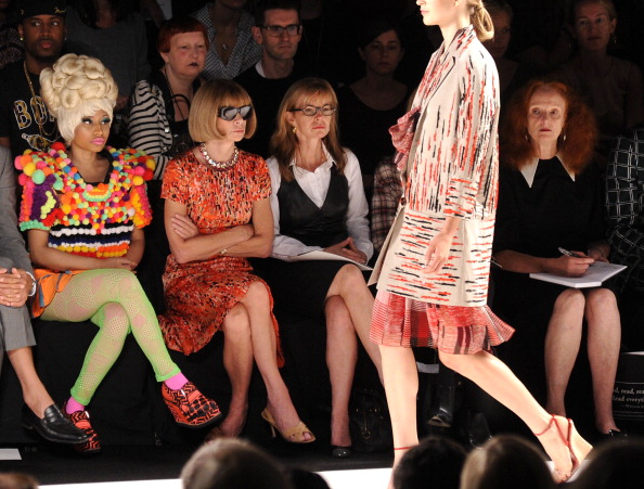 Fashion Week「Carolina Herrera - Front Row - Spring 2012 Mercedes-Benz Fashion Week」:写真・画像(5)[壁紙.com]