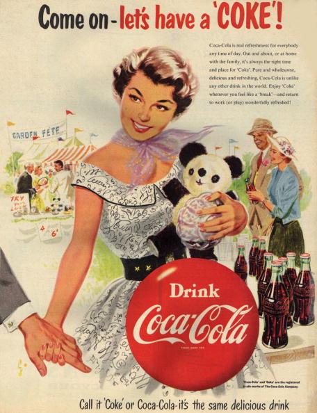 Bottle「Let's Have A Coke」:写真・画像(7)[壁紙.com]