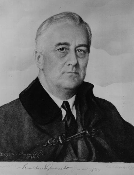 Franklin Roosevelt「FDR Watercolour」:写真・画像(16)[壁紙.com]
