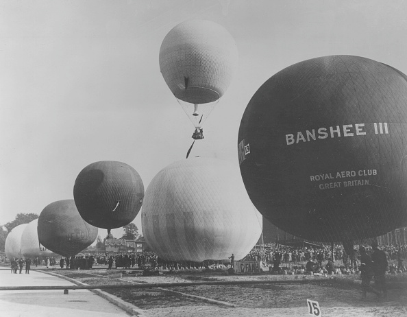 気球「A Gordon Bennett Balloon Race」:写真・画像(14)[壁紙.com]