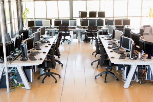 豊富「View Of Stock Trading Office」:スマホ壁紙(1)