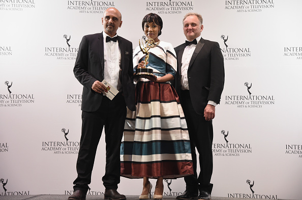 Best shot「43rd International Emmy Awards - Press Room」:写真・画像(0)[壁紙.com]
