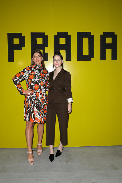 Beige「Prada -Arrivals and Front Row: Milan Fashion Week Fall/Winter 2019/20」:写真・画像(17)[壁紙.com]
