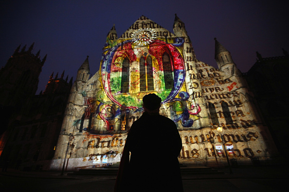 York - Yorkshire「Archbishop of York Launches First 'Son Et Lumiere' On York Minster」:写真・画像(12)[壁紙.com]