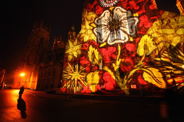 York - Yorkshire「Archbishop of York Launches First 'Son Et Lumiere' On York Minster」:写真・画像(13)[壁紙.com]