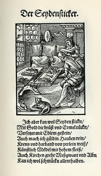 16th Century「Silk embroiderer」:写真・画像(16)[壁紙.com]