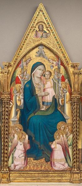 Gold Leaf「Madonna And Child Enthroned With Twelve Angels」:写真・画像(18)[壁紙.com]