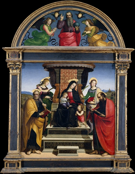 Architectural Feature「Madonna And Child Enthroned With Saints」:写真・画像(10)[壁紙.com]