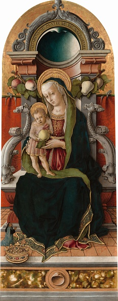 Animal Body Part「Madonna And Child Enthroned With Donor」:写真・画像(18)[壁紙.com]