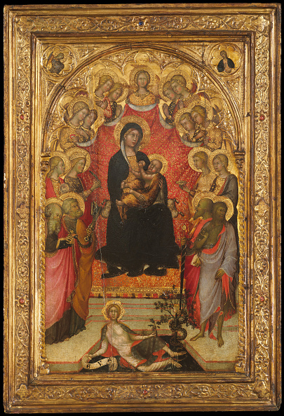 Preacher「Madonna And Child Enthroned With Saint John The Evangelist」:写真・画像(16)[壁紙.com]