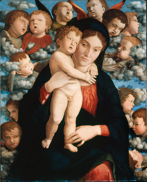Classical Style「Madonna And Child With A Choir Of Cherubs (Madonna Of The Cherubim)」:写真・画像(7)[壁紙.com]