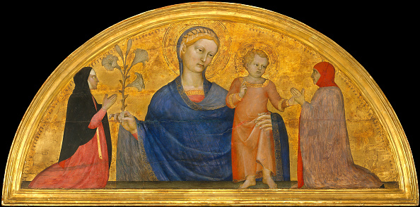 Gold Leaf「Madonna And Child With Donors」:写真・画像(10)[壁紙.com]