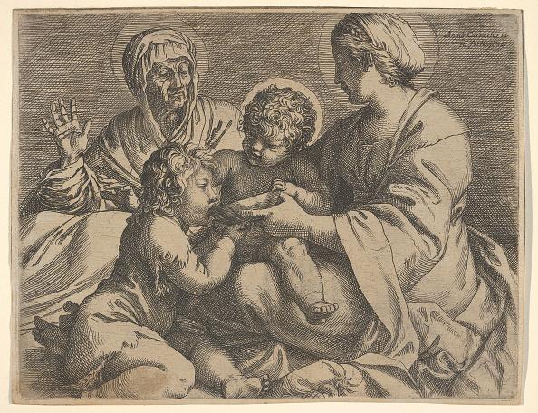John The Baptist「Madonna And Child With Saints Elizabeth And John The Baptist (Madonna Della Scodella)」:写真・画像(3)[壁紙.com]
