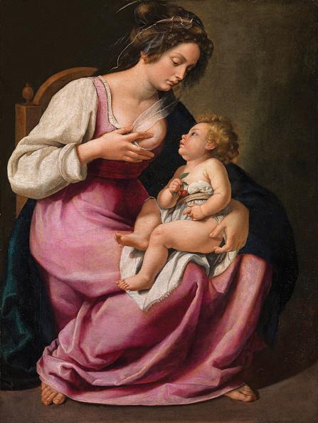 Painted Image「Madonna And Child」:写真・画像(8)[壁紙.com]