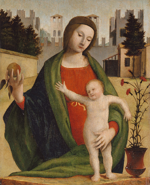 Tempera Painting「Madonna And Child」:写真・画像(15)[壁紙.com]