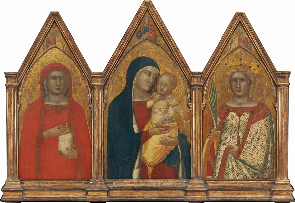 Gold Leaf「Madonna And Child With The Blessing Christ」:写真・画像(4)[壁紙.com]