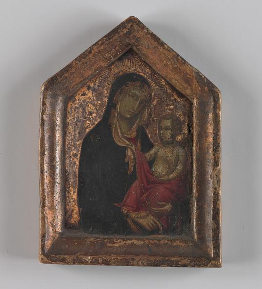 Circa 14th Century「Madonna And Child」:写真・画像(4)[壁紙.com]