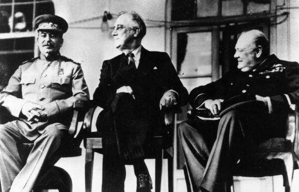 Franklin Roosevelt「The Big Three」:写真・画像(11)[壁紙.com]