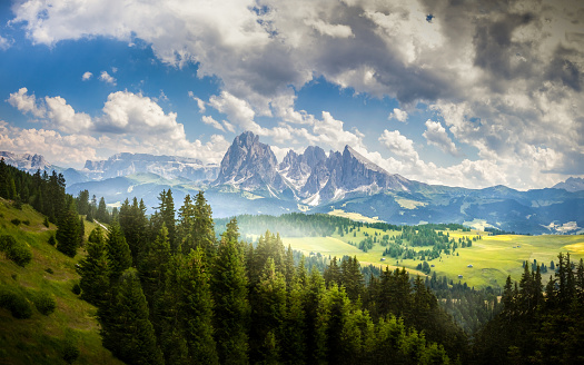 Alto Adige - Italy「Alpe di Siusi, Dolomites, Alto Adige, Italy」:スマホ壁紙(4)