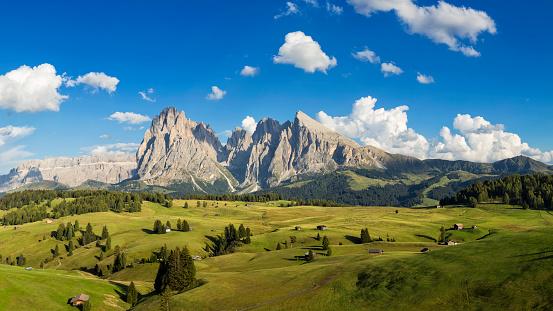 European Alps「Alpe di Siusi, South Tyrol, Italy」:スマホ壁紙(13)