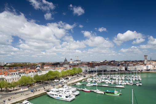 Nouvelle-Aquitaine「La Rochelle's marina in the Vieux Port, Old Harbor」:スマホ壁紙(2)