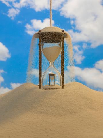 歴史「Sands of Time, hour glass」:スマホ壁紙(8)