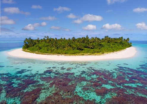 島「Island in the Maldives」:スマホ壁紙(19)