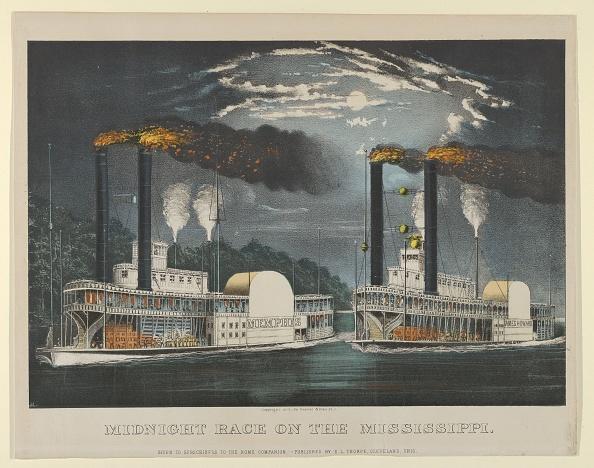 Passenger Craft「Midnight Race On The Mississippi」:写真・画像(5)[壁紙.com]