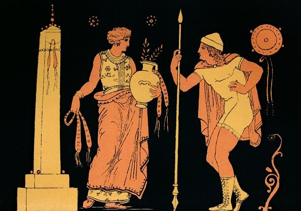 Black Background「Electra And Orestes, 1880」:写真・画像(14)[壁紙.com]