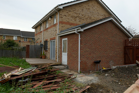 Overcast「Site for an extension to a house, East London, UK」:写真・画像(15)[壁紙.com]