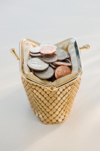 Gold Purse「Coins in open change purse」:スマホ壁紙(18)