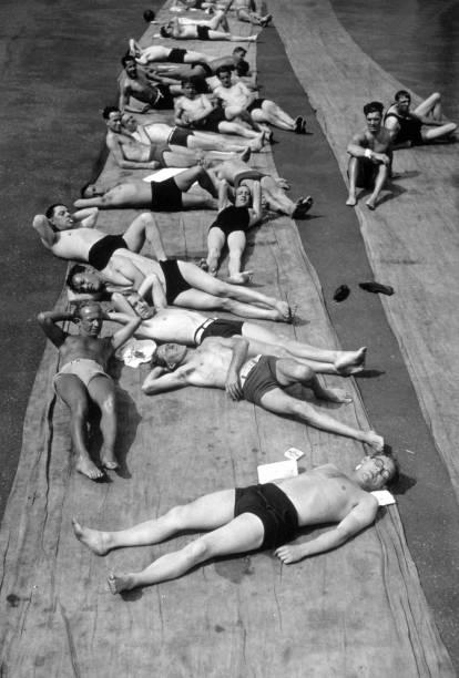Men Sunbathing:ニュース(壁紙.com)