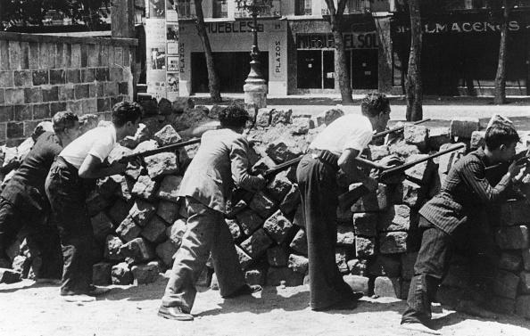Spain「Barcelona Barricades」:写真・画像(4)[壁紙.com]