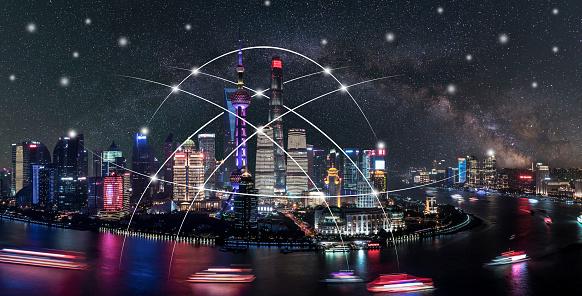 世界の風景(地域別)「都市ネットワーク技術」:スマホ壁紙(18)