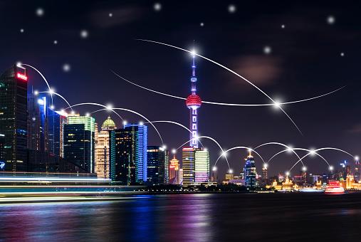 世界の風景(地域別)「都市ネットワーク技術」:スマホ壁紙(17)