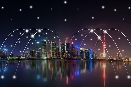 世界の風景(地域別)「都市ネットワーク技術」:スマホ壁紙(16)