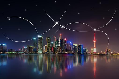 世界の風景(地域別)「都市ネットワーク技術」:スマホ壁紙(12)