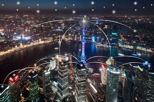 世界の風景(地域別)「都市ネットワーク技術」:スマホ壁紙(13)