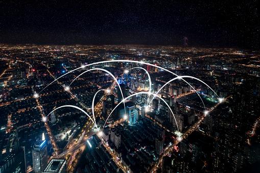 世界の風景(地域別)「都市ネットワーク技術」:スマホ壁紙(14)