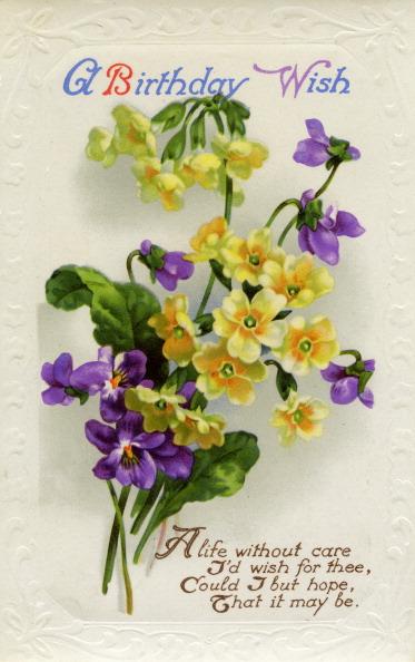 Birthday Card「Birhday card, c1934.」:写真・画像(9)[壁紙.com]