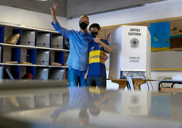Infectious Disease「Sao Paulo Municipal Elections Runoff Amidst the Coronavirus (COVID - 19) Pandemic」:写真・画像(17)[壁紙.com]